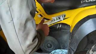 4. Changing Oil On Polaris Sportsman 500 HO.mp4