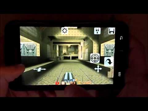 Video of Q-Touch (Port of Quake)
