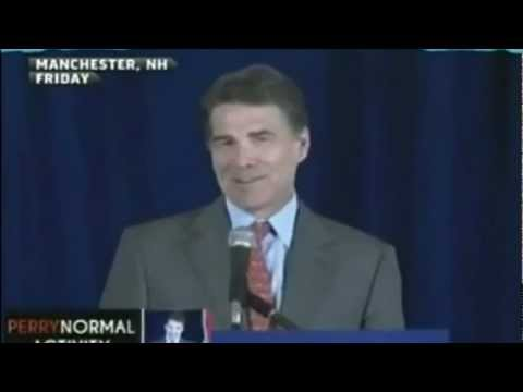 Rick Perry Drunk at New Hampshire Speech (720p HD)