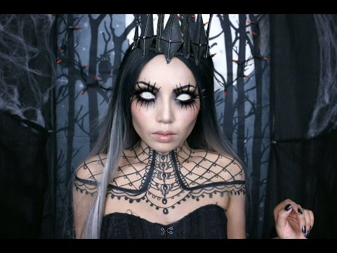 tutorial per halloween regina dell'oscurita'