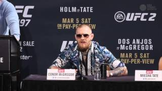 Video Conor McGregor takes over the UFC 197 on-sale press conference MP3, 3GP, MP4, WEBM, AVI, FLV Desember 2018