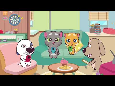 FUNNY FOOD FAILS – The Talking Tom and Friends Minis Cartoon Compilation (21 Minutes)
