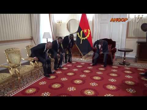 PR recebe conselheiros da RDC e do Congo