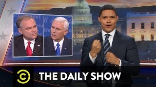The Daily Show Vice Presidential Debate Wrap-Up