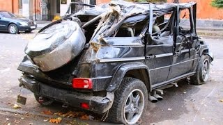 Fail Compilation of Driving in Russia DECEMBER 2014 #3