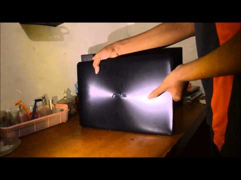 Unboxing Asus A455LD core i3