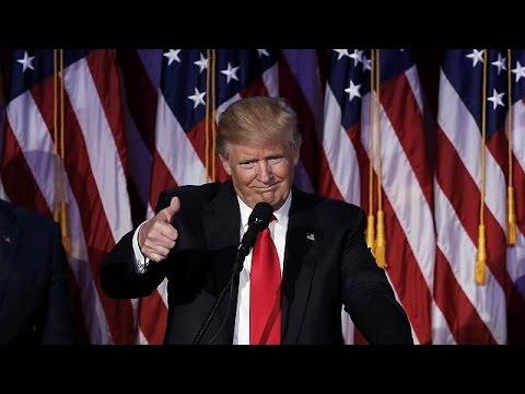 LIVE: 45ος πρόεδρος των ΗΠΑ ο Ντόναλντ Τραμπ – Η Χίλαρι Κλίντον παραδέχθηκε την ήττα της