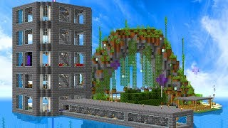 Touring My Mianite Base In Minecraft