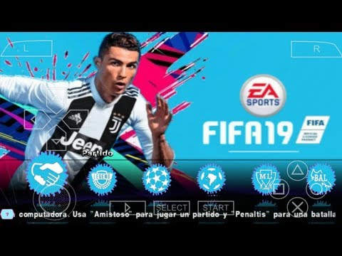 FIFA 19 PPSSPP Android Offline 800MB Best Graphics New Kits Face & Transfers Update