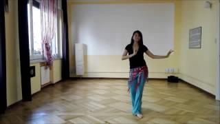Danza del ventre online - Sequenza Pop per principianti!