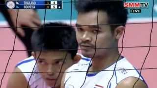 Thailand - Indonesia Set 2 Qualifier Men's World 28-06-2013