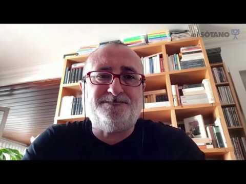 Joan Carles Mèlich habla de 'La prosa de la vida' para las librerías El Sótano, de México