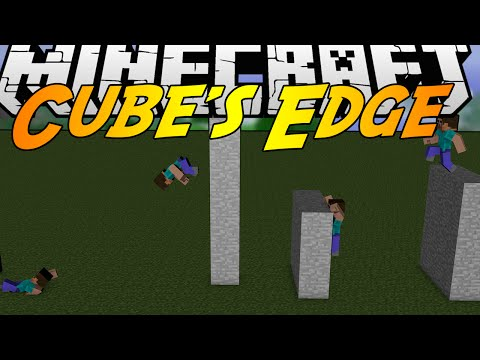 Minecraft Mods: CUBE'S EDGE MOD (1.7.2) - MIRRORS EDGE! JUMP HIGH, FLIP, SLIDE, AND MORE! (видео)
