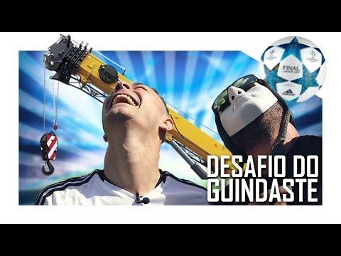 DOMINANDO A BOLA A 20 METROS DE ALTURA?