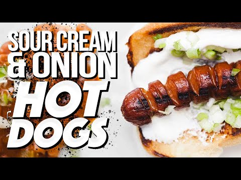 Sour Cream And Onion Hot Dogs | SAM THE COOKING GUY