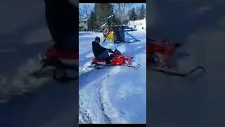 8. Predator 212 Polaris XC Snowmobile! The Sledator