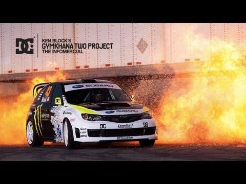 extreme driving - DCSHOES.COM/GYMKHANATWO Riding on the success of the first Gymkhana Practice video that grabbed the attention of over 20 million viewers worldwide, the Gymkh...