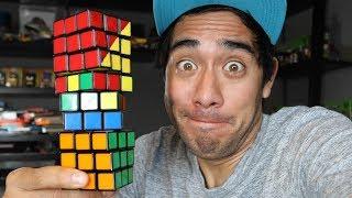 Video Amazing Rubik's Cube illusions - Zach King MP3, 3GP, MP4, WEBM, AVI, FLV Februari 2019