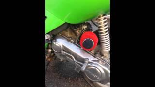 9. 2002 Kymco 50cc Super 9