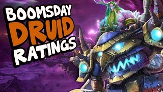 BOOMSDAY DRUID CARD RATINGS | The Boomsday Project | Hearthstone