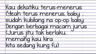 jangan parkir (The op op song) lirik