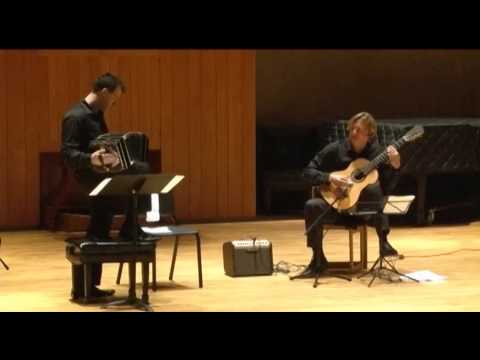 Jason Vieaux and Julien Labro perform Piazzolla and Tears for Fears