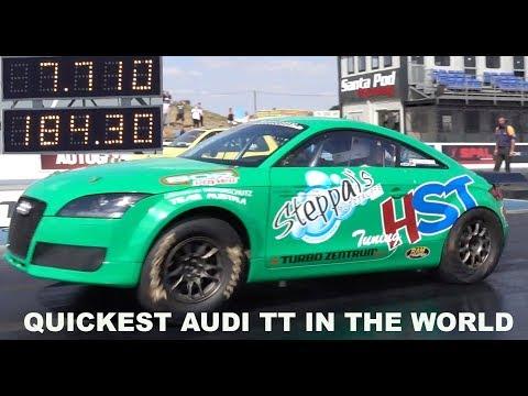 Quickest AUDI TT In The World 1356 hp 1/4 Mile 7.71 @ 184mph