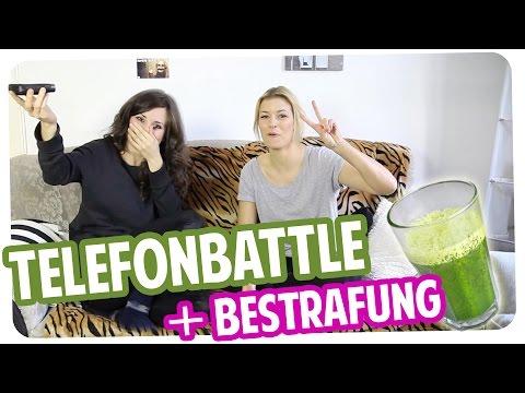 Rap-Telefon-Battle inkl. Ekel-Smoothie! :D mit Annica Hansen | Telefonprank