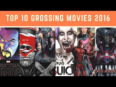 Top Grossing Movies 2016 | 2016 Movies: Top 10 Biggest Box Office Hits | Highest Grossing Movies