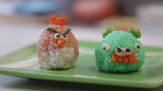 How to Make Angry Birds Rice Balls by POPSUGAR Food