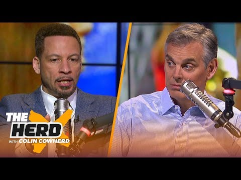 Chris Broussard agrees Zion is a Top-50 player, talks key for the Lakers next HC | NBA | THE HERD