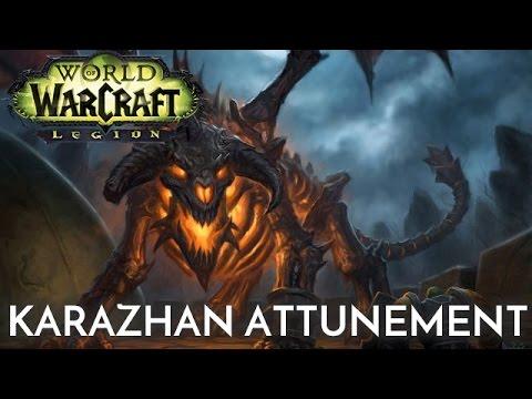 Legion | Karazhan Attunement | Reclaiming the Ramparts