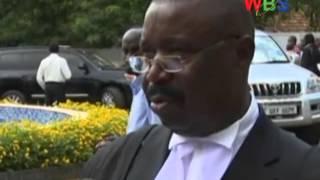 Timothy Sibasi cross examined the deputy attorney general Mwesigwa Rukutana and Mbabazi's lawyer Asuman Basalirwa on the legal permissibility of the amended ...