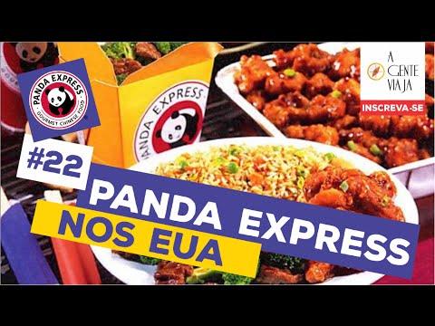 Panda Express restaurante em Orlando - Florida - Estados Unidos