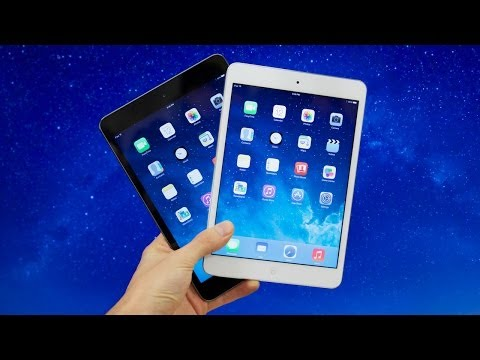 iPad mini 2 with Retina Display (White vs Black) Unboxing & Setup!