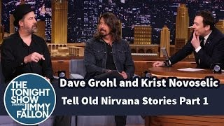 <b>Dave Grohl</b> And Krist Novoselic Tell Old Nirvana Stories  Part 1