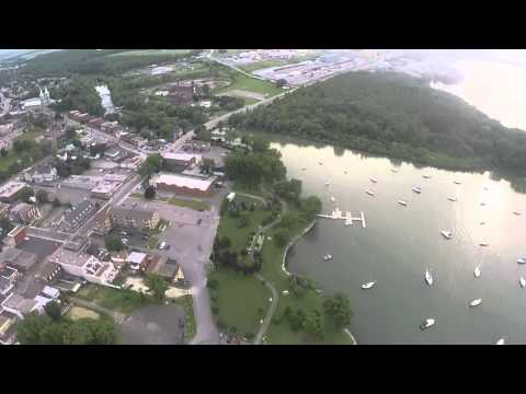 DJI450/GoPro Hero3 Taking a look at my neighborhood in Beauharnois, Qc!