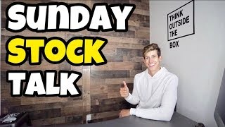 TOP 10 STOCKS FOR BEGINNERS THIS MARCH | SUNDAY STOCK TALK