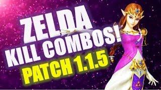 TheSkuxxedOne | Zelda Kills Combos: Post Buff Analysis [1.1.5]
