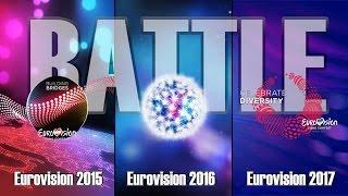 Download Lagu BATTLE: Eurovision 2015 VS Eurovision 2016 VS Eurovision 2017 Mp3