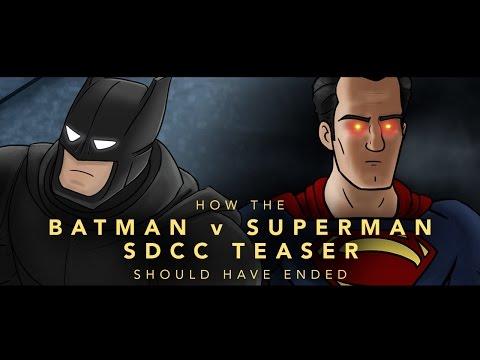 hishe - batman v superman teaser trailer