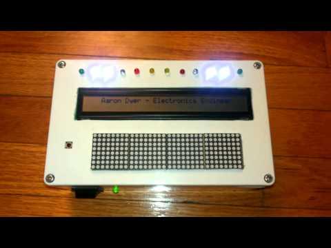 40x2 LCD, arduino mega2560, max7219, matrix..WIP