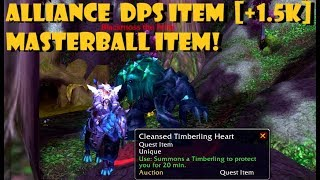 AMAZING DPS Item [Cleansed Timberling Heart] [Alliance]