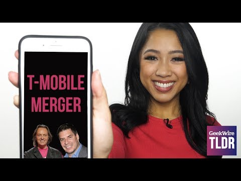 📱 T-Mobile and Sprint to Merge | GeekWire TLDR | 4/30/2018