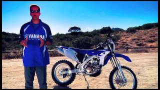 4. 2012 WR450F with Fuel Injection