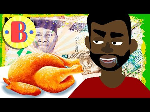 Cartoon Comedy: A Nigerian Ar A London Restaurant | Briefly Cartoons