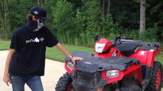 7. Walk-Around of my 2014 Polaris Sportsman 570 EFI 4x4 with Modifications