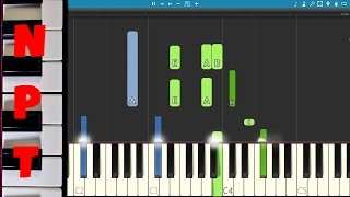 Coldplay - Everglow Piano Tutorial - How to play Everglow on piano - Instrumental