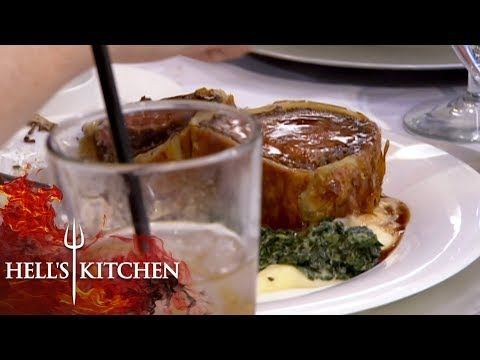 VIP Complains Food Isn't Up To Her Standards | Hell's Kitchen