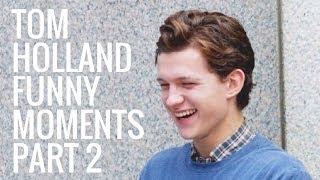 Video Tom Holland Funny Moments | Part 2 MP3, 3GP, MP4, WEBM, AVI, FLV Januari 2018